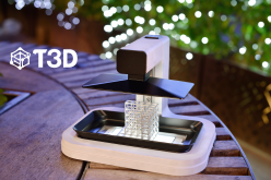 T3D launches Kickstarter for low cost cell phone powered SLA 3D printer