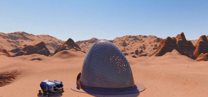 NASA's 3D-Printed Habitat Competition: Designing Life on Mars