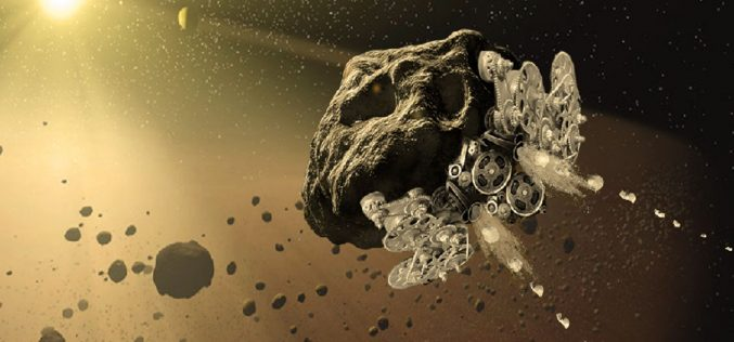 Turning Asteroids Into Spaceships