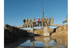 U.S. Army 3D Prints the First Concrete Bridge