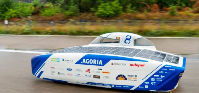 Solar Powered, 3D Printed Car