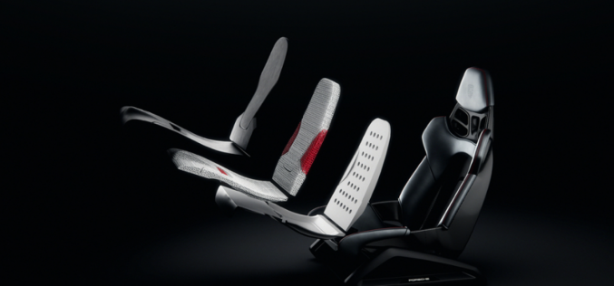 Porsche Uses 3D Printing for New Bucket Seats