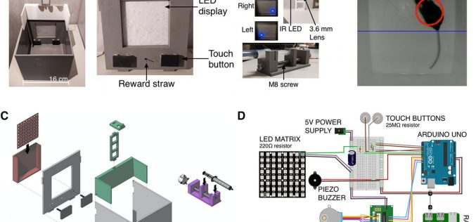 3D Printable Device Can Influence Animal Behavior