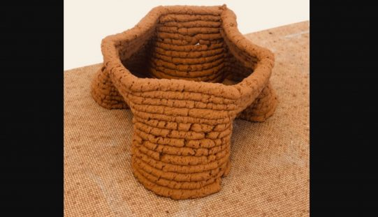Local Soil Replaces Concrete for 3D Printed Structures